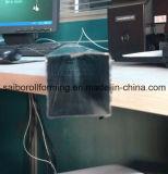 Quadratische Rohr-Rolle, die Maschinen-Zeile bildet