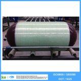 cilindro Aro-Envolvido CNG-2 do veículo CNG da fibra de vidro 90L