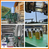 Малый модульный завод отработанным моторным маслом на дизельное топливо Устройство обработки