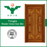 Peau en bois de porte de mélamine de modèle de portes