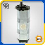 Pompe à engrenages rotatoire hydraulique de pétrole de la pompe triple (PC200-1)