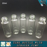 詰め替え式20ml香水のガラススプレーのびんの装飾的な包装のびん