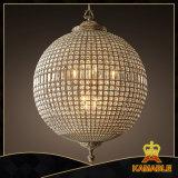 Projekt-Hotel-Kugel-Kristallleuchter-Beleuchtung (KAUR183)