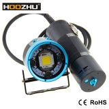 Hoozhu Hv63 크리 사람 LED 잠수 영상 가벼운 최대 12000lm는 180m를 방수 처리한다