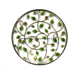 New Metal Leaves W. Jewellery Wall Art Decoração de jardim