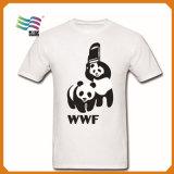 T-shirt fait sur commande d'imprimante de vente chaude avec la publicité pour la campagne
