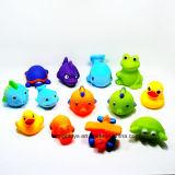 13 genres de jouet animal de natation réglé en bonne vente