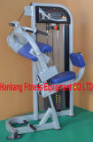 el equipo de la gimnasia, aptitud, máquina de la fuerza del martillo, asentó la prensa DF-7018 de la pierna
