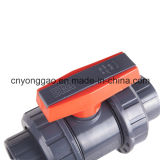 PVC圧力給水のための本当連合球弁