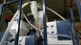 Macchina ad alta velocità della pellicola di stirata di doppio strato 1000mm