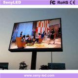 Vídeo que anuncia o quadro de avisos ao ar livre do diodo emissor de luz da cor cheia