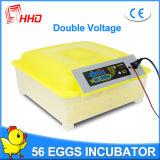 Инкубатор яичек сбывания 48 Hhd горячий для насиживая яичек (YZ8-48)