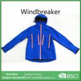 Männermit kapuze wasserdichte Windbreaker-Umhüllung