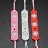 LED-Einspritzung-Baugruppen-Rosa-Farbe 70*13L imprägniern 3SMD5630 LED Baugruppe