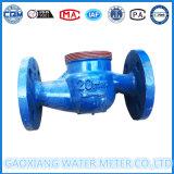 Mechanisches Wasser-Messinstrument des Flansch-Dn40