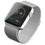 ミラノのループステンレス鋼のブレスレットのAppleの腕時計38mm&42mmのためのスマートな時計バンド