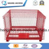 Cage soudée rigide de fil de mémoire pliable par Powder Coated