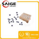 Bola de acero inoxidable libre de la exportación G100 5m m de China de la muestra