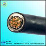 Jupe de PVC isolée par PVC protégeant le câble de commande de cuivre de conducteur de Multi-Faisceaux tressés
