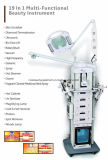 1台の多機能の超音波ガルバニック顔の心配の美機械に付き高周波19台