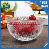 Da salada direta da fruta do diamante do cristal da fábrica bacia de vidro