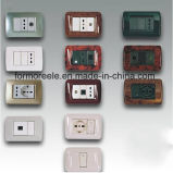 Diferentes Tipos Italian Wall Switch with Socket