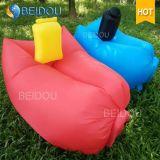 Bett-Sofa Laybag der Luft-1-Mouth aufblasbares Stuhl-Schlafen gelegter Beutel