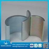 De de aangepaste N35 N38 N40 N42 N45 Kleine Boog van het Neodymium/Magneet van het Segment voor Verkoop
