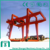 Heavy Duty las máquinas de elevación doble viga carretilla eléctrica grúa pórtico