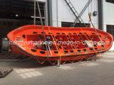 O SOLAS aprovou o barco salva-vidas aberto de GRP
