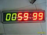 Segno programmabile esterno di /Time /Date /Temperature LED dell'orologio/visualizzazione di LED esterna della pubblicità alta luminosità dei segni 5 '' 6 '' 8 '' 10 ''