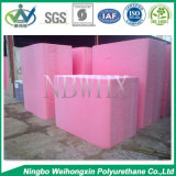 Розовый затир цвета для губки L580 пены тюфяка PU
