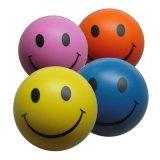 Sfera rimbalzante di gomma di sforzo della gomma piuma del poliuretano molle di sorriso