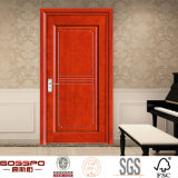 Конструкция одиночной деревянной двери переклейки материальная (GSP8-029)