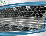 Tubo de acero del hierro de /Galvanized del tubo del galvanizado Gi/Seamless