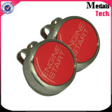 Custom 25mm Stamp Size Sport Metal Golf Ball Marker