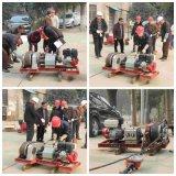 5 Hijstoestel van de Kruk van de Kabel van de Draad van de ton het Dieselmotor Aangedreven