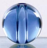 装飾のためのセンターピースの穴が付いているクリスタルグラスの球