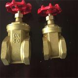 Válvula de porta de bronze para a água e o petróleo