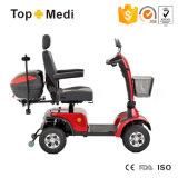 Plegable para trabajo pesado eléctrico Scooter Sport con LED y cesta