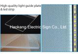 LED-Aluminium-Verschluss-Bilderrahmen für den Wand-Menü-Vorstand, der hellen Kasten bekanntmacht