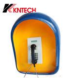 Kntech Telefon-Stand 2016 der Notruftelefon-Geräusch-akustischen Hauben-RF-16