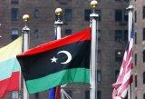 Su ordinazione impermeabilizzare e modello no. della bandiera nazionale della Libia della bandiera nazionale di Sunproof: NF-063