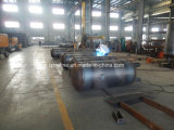 600L 2.5MPaの縦の炭素鋼の空気貯蔵タンク