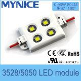 고품질 옥외 LED 모듈 4LED SMD2835/Module 140lm IP66 LED 점화 모듈