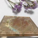 Glace de flotteur en verre estampée par soie de /Laminated/verres de sûreté en verre Tempered/pour la décoration