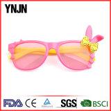 Óculos de sol baratos das crianças do coelho da venda por atacado UV400 de Ynjn