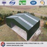 Het geprefabriceerde Landbouw Lichte Huis van het Gevogelte van de Structuur van het Staal/Afgeworpen