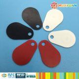 Fob clássico durável da chave da fibra de vidro da gota 1K RFID de MIFARE