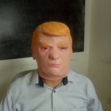 Máscara nova de Cosplay Donald Trump do partido de Halloween